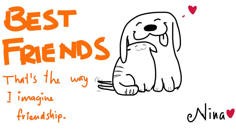best friends   doodle ly
